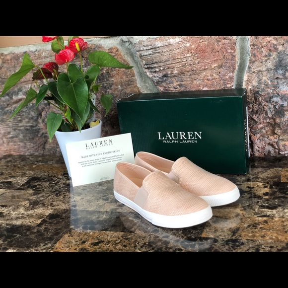 LAUREN RALPH LAUREN Shoes Slides Black Leather 10 B Ladies